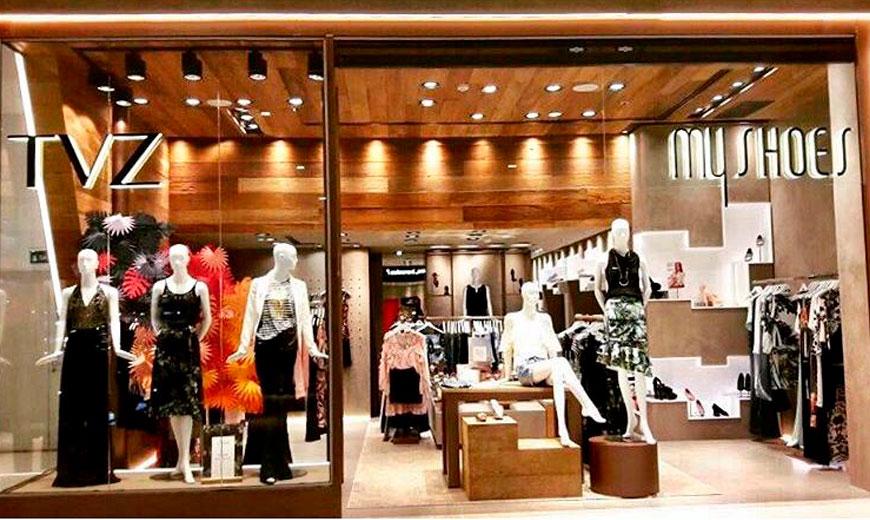Loja de Vestuário e Calçados Feminino